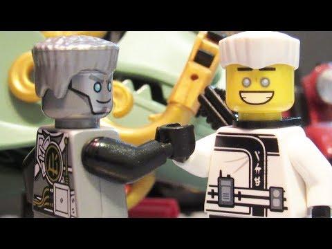 Lego ninjago movie zane vs original ninjago zane youtube - Ninjago vs ninjago ...