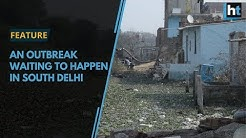 Delhi's Aya Nagar is in the middle of a sewage crisis