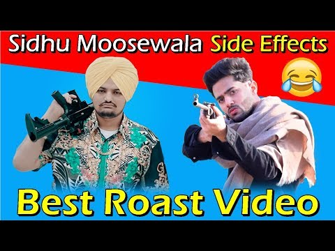 SIDHU MOOSE WALA | Side Effects | Latest Punjabi Songs Roast Video | Prince Dhimann
