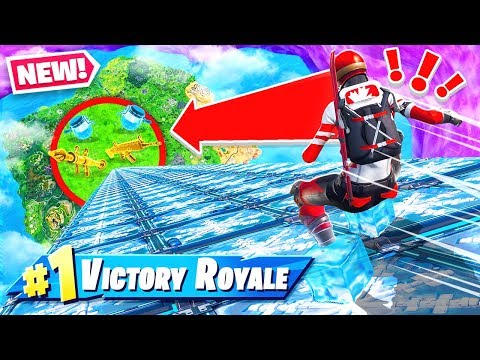 Fortnite SLIP & SLIDE Random LOOT *NEW* Game Mode in Fortnite Battle Royale