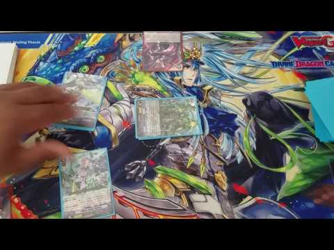 Cardfight!! Vanguard Tidal Assault Early Game Tutorial