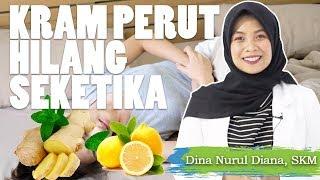 Tips Meredakan Sakit Perut Saat Haid / Menstruasi | Pakai Pembalut?! | Yuny Isnaini.