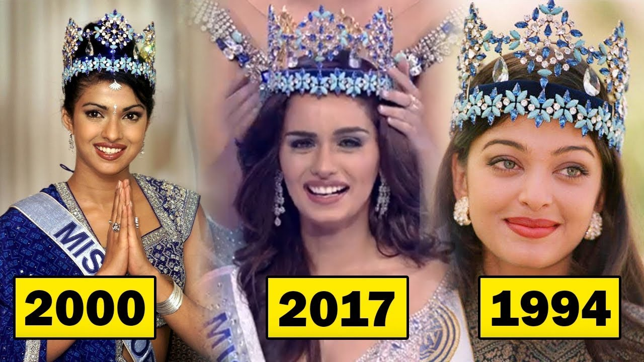 All Miss World Miss Universe From India With Year Priyanka