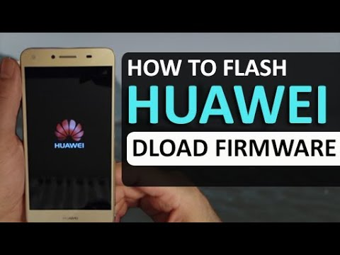 Installing Stock Firmware With Using DLOAD Method All Huawei Phones