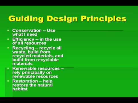 Green Building Design Principles