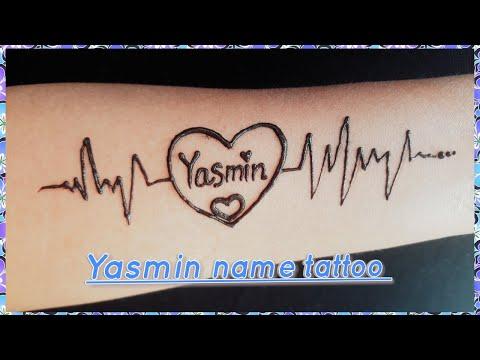 Yasmin Name Tattoo How To Write Yasmin With Henna Mehndi