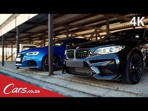 Audi RS3 vs BMW M2 Track Race - The Rematch Part 2