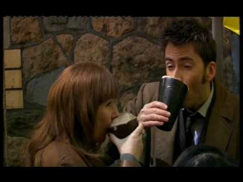David Tennant and Catherine Tate Interview on Chris Moyles Part 1/3