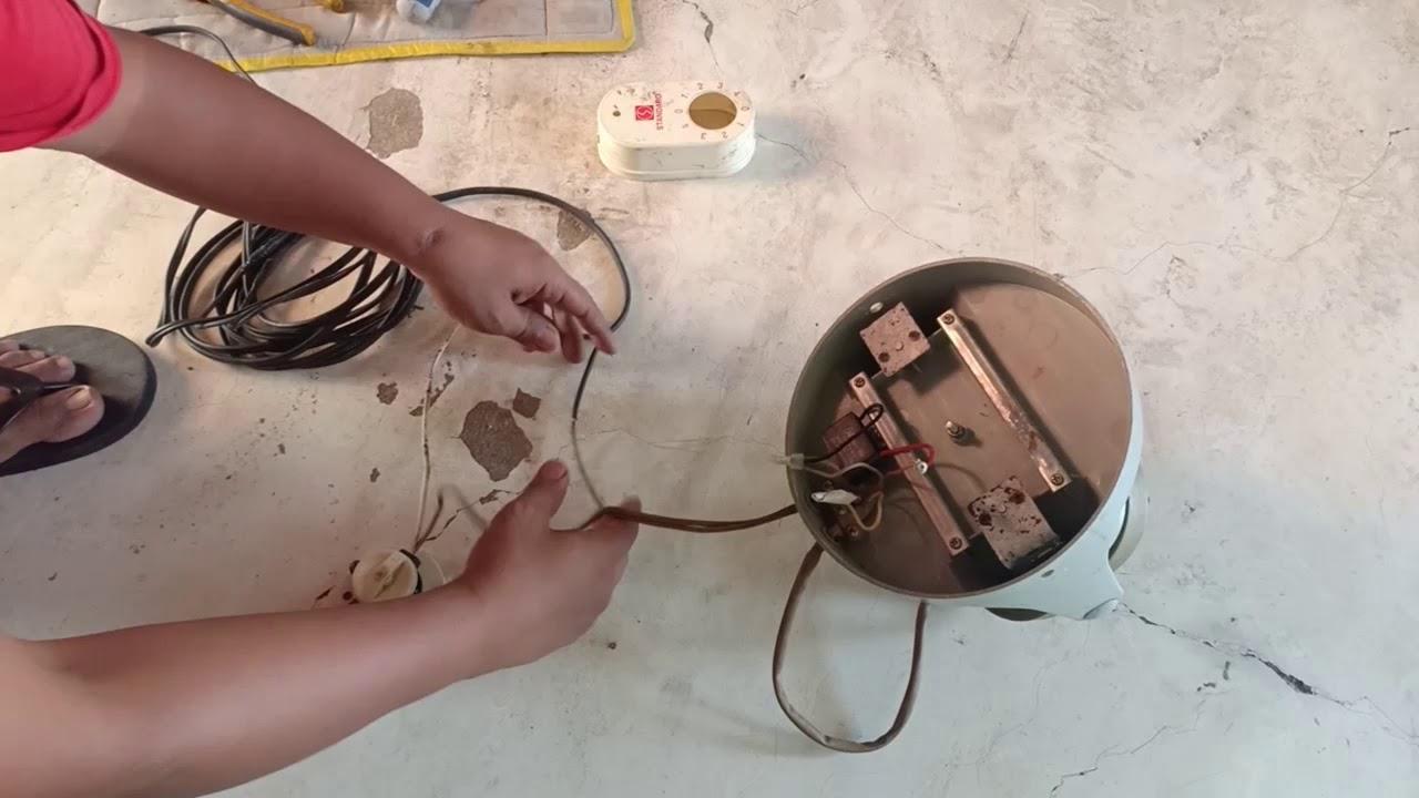 orbit fan wiring