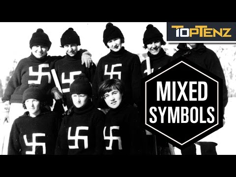 Top 10 Symbols Used By More Than One Group
