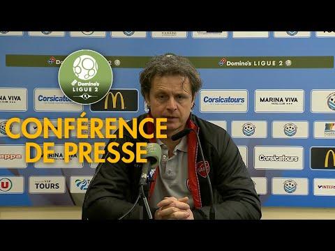 Conférence de presse Tours FC - Valenciennes FC ( 1-2 )  / 2017-18