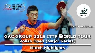 Polish Open 2015 Highlights: FAN Zhendong vs XU Xin (1/2)