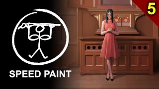 Painting a Church Girl - Part 5