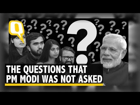 The Quint Asks Questions That PM Modi Wasn鈥檛 Asked | The Quint