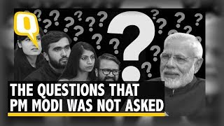 The Quint Asks Questions That PM Modi Wasn't Asked | The Quint