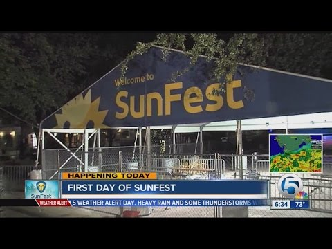 SunFest begins five-day festival in downtown West Palm Beach