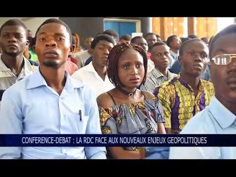 CONFERENCE  DEBAT LA RDC FACE AUX NOUVEAUX ENJEUX GEOPOLITIQUES OK