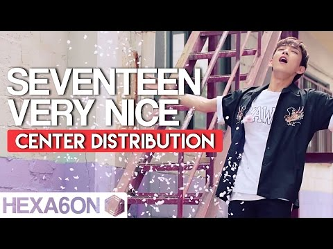 Seventeen - Very Nice Center Distribution (Color Coded)