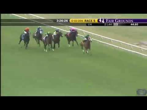 2016 Battle of New Orleans Stakes - Rapid Rhythm - Fair Grounds Racecourse