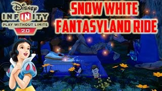 Disney Infinity 2.0 Toy Box Snow White Fantasyland Ride An Experience Like None Other