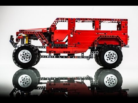 moc lego technic g500 awd wagon doovi. Black Bedroom Furniture Sets. Home Design Ideas