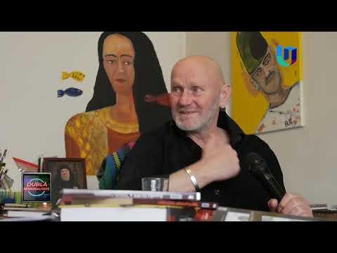 TeleU: Papi Roșculescu - poet și artist plastic la Dublă Personalitate (partea 2)