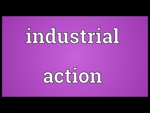 Industrial action Meaning