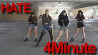 4minute 포미닛 hate 싫어 dance cover by gpk