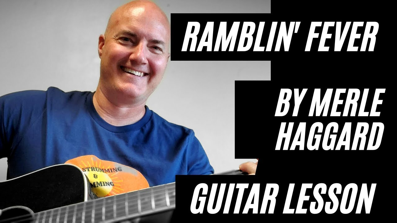 Ramblin' Fever by Merle Haggard Guitar Lesson and Play Along How to Play  Country Guitar Classics