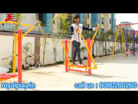 Open Gym Equipment By Royal Play Equipments