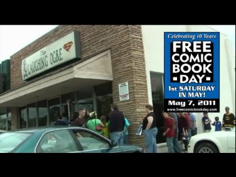 Free Comic Book Day 2011 at the Laughing Ogre