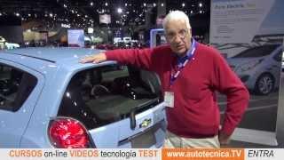 Chevrolet Spark Eléctrico. Nuevas tecnología y tendencias desde el Auto Show de Los Angeles.