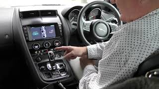 2018 jaguar F Type cool interior features 2.0L