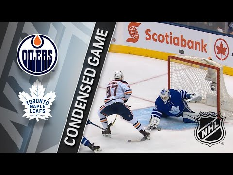 12/10/17 Condensed Game: Oilers @ Maple Leafs