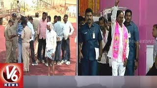 CM KCR To Begin 2nd Phase Election Campaign From Khammam | TS Assembly Polls | V6 News