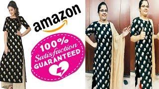 Amazon kurti review| Amazon kurti unboxing|Amazon kurti haul|Amazon kurti honest review