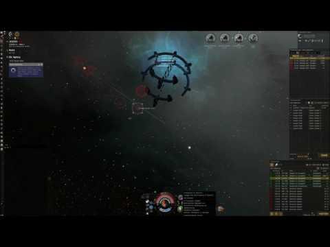 Eve online updated C3 farming Timelapse