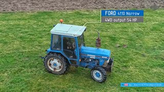 Ford 4110 narrow 4WD | nowy stary nabytek martinflashgordon