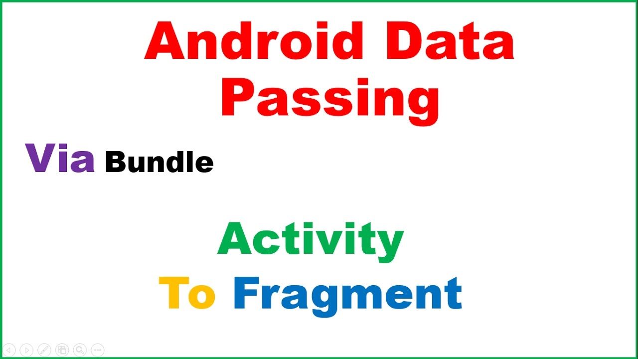 Android Data Passing Ep 02 : Activity To Fragment - From EditText,Spinner