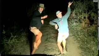 African rain dance by Jeandré and James!