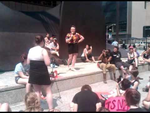 Emily Robison Slutwalk 2011