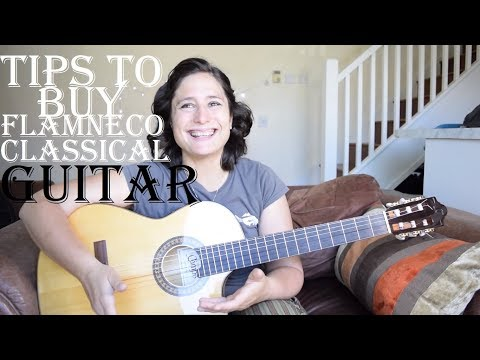 Watch this before you buy a classical or a flamenco guitar (nylon strings)