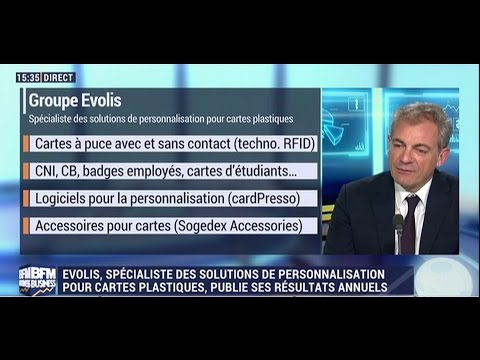 Interview d'Emmanuel Picot, PDG d'Evolis