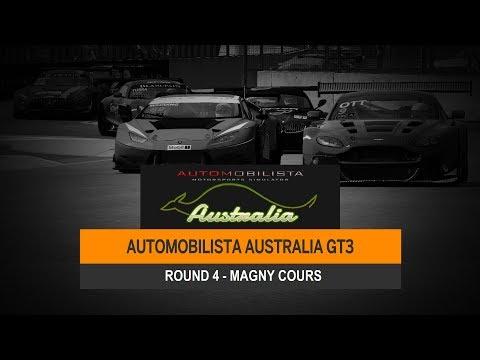 AMS Australia Broadcast - GT3 R4 - Circuit de Nevers Magny-Cours