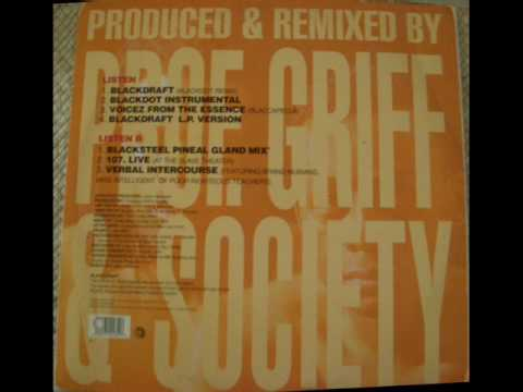 Professor Griff & Society - Blackdot Instrumental