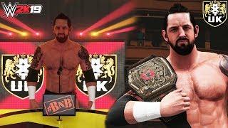 WWE 2K19 BAD NEWS IS BACK! (Wade Barrett Wins The U.K. Title ft. NXT UK 2018 Arena & Pete Dunne Mod)
