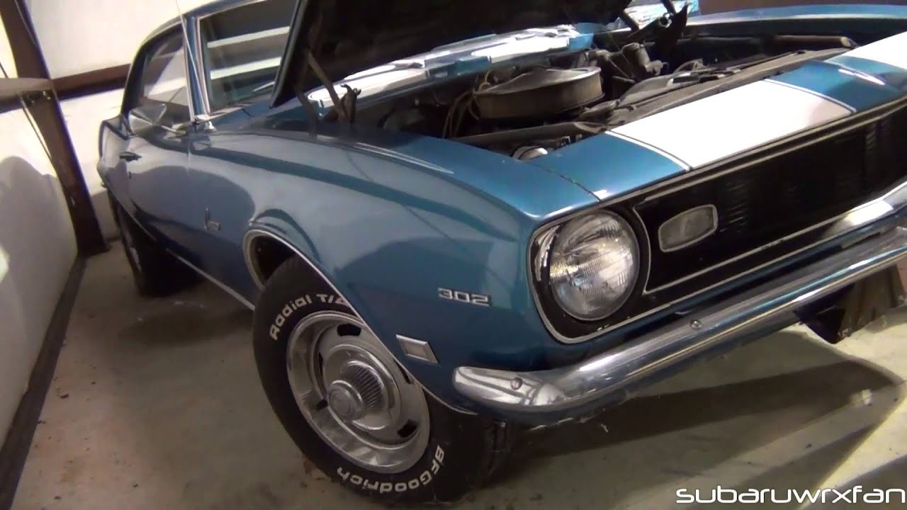 One Man\'s Classic Muscle Car Collection! - YouTube