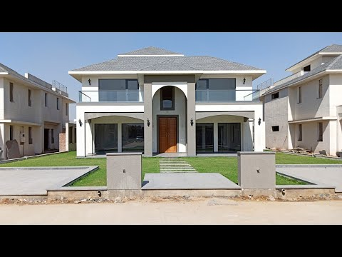 New Modern Villa House Design ! 8050 Sq.ft Builtup Area House Elevation Design !!
