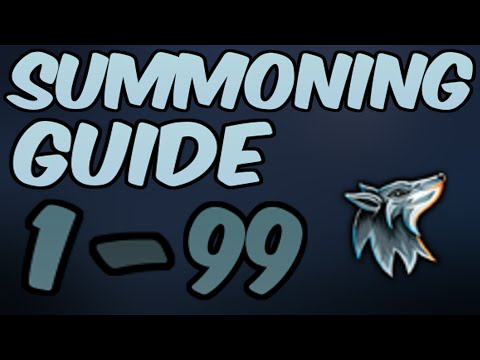 1-99 Summoning Guide UPDATED Runescape 2014 - Fastest XP [P2P Only]