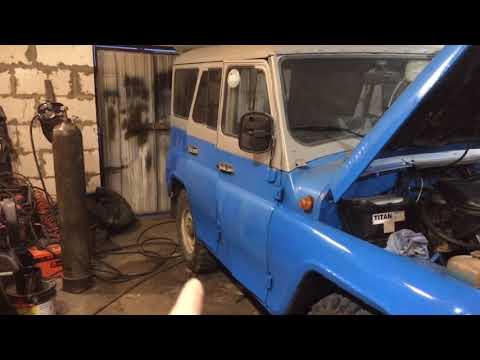 Ремонт кузова Уаз 469 с минимальным бюджетом